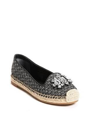 Gill Diamante Embellished Espadrilles | Espadrilles, Guess