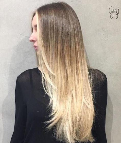 lange feine haare frisur   meilleure coiffure moderne
