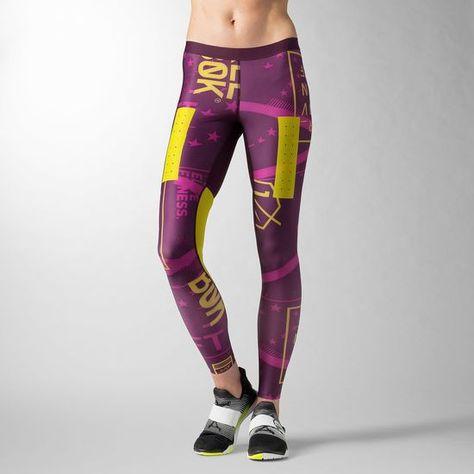 Hose Reebok Elite MEsh Tight damen leggins | eBay