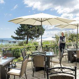 Maritim Hotel Timmendorfer Strand Restaurant Beach Lounge Seaside Resort Hotel