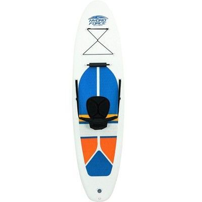 Bestway Hydro Force 10 Foot Inflatable Stand Up Paddle Board Sup Kayak White Em 2020