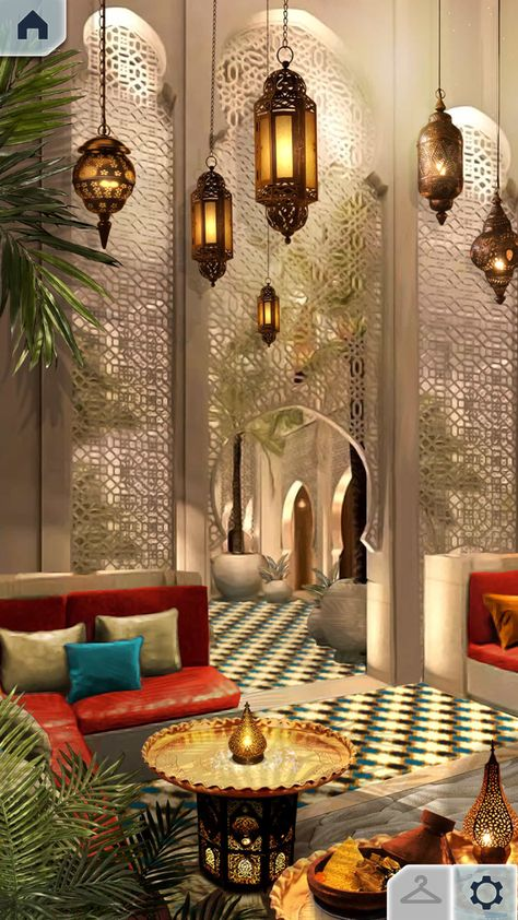 Rules of Engagement Book 2 Deco Restaurant, Restaurant Design, Arabian Decor, Morrocan Decor, Moroccan Interiors, Interior Decorating, Interior Design, Islamic Architecture, Moroccan Style