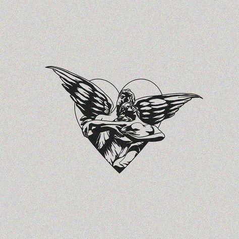 Pin by Justalex on Тату | эскизы | in 2021 | All black tattoos, Black tattoos, Cute tattoos