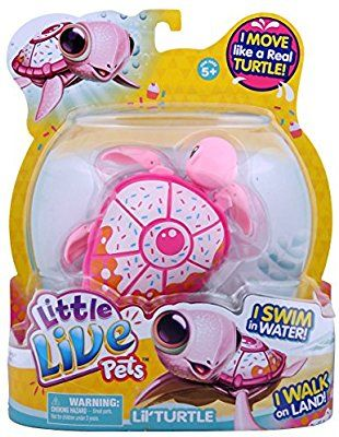 Amazon Com Little Live Pets Turtle Sundae Toys Games