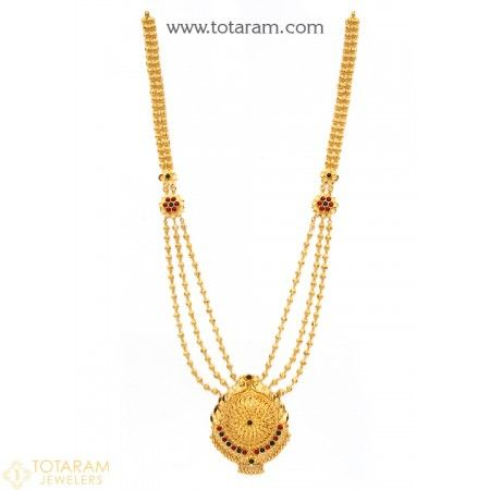 Traditional Necklaces For Women Gold Jewellery Design Womens Necklaces 22 Karat Gold Jewelry