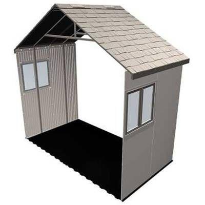 10 W X 20 D Diy Storage Shed Kit Storage Shed Kits Diy Storage Shed Outdoor Storage Sheds
