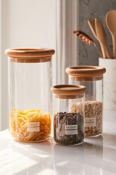 Food Storage Organization Urban Outfitters Jar Storage