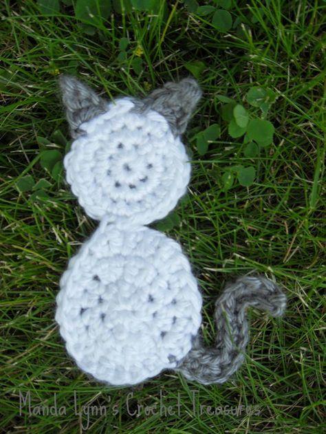 Aizen the Kitty Appliqué ....free pattern!