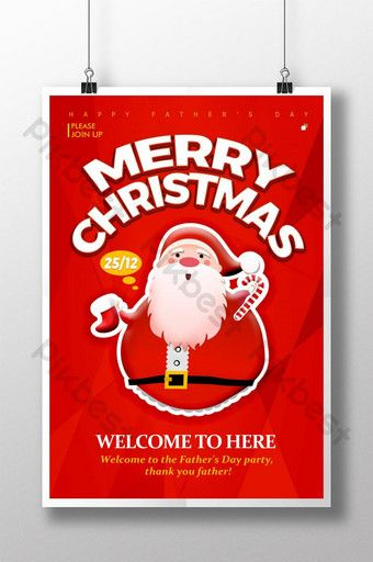 Fashion Pop Cartoon Christmas Event Poster Psd Free Download Pikbest Event Poster Trifold Brochure Design Illustration Design