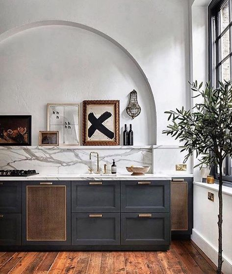3,230 gilla-markeringar, 82 kommentarer - Carol Estes (@cestesdesign) på Instagram: This beauty draws me in with architectural interest, mix of materials and great styling!…