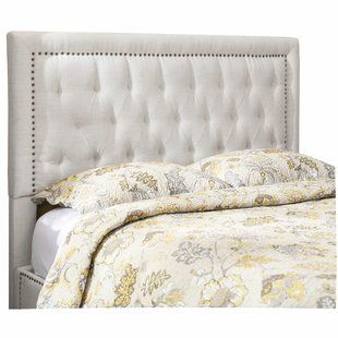 new concept 1bccc 1793f Darby Home Co Gossman Upholstered Panel Headboard in 2019 ...