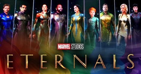 Marvel Studios boss Kevin Feige unveiled the very first footage from the upcoming Eternals movie at CCXP in Brazil. Watch Hindi Movies Online, New Hindi Movie, Movies To Watch, Richard Madden, Salma Hayek, Marvel Comics, Films Marvel, Marvel Funny, Marvel Avengers
