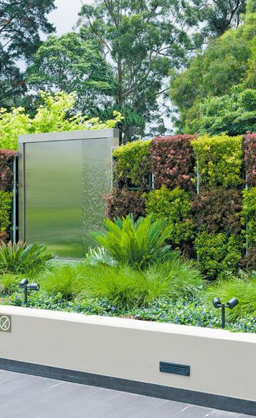 These Wall Planters Are Made From Galvanised Wire Mesh, Lined With  Geotextile Fabric | Vertical Garden | Pinterest | Diy Vertical Garden, ...