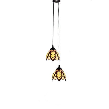 Modernes Design Tiffany Hange Lampe Unsere Serie Flow Souplesse Small 2 Die Beiden Glasschirme Werden Uber Ein R Lampen Tiffany Lampen Hange Lampe