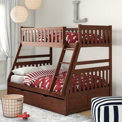 Best Birch Lane™ Heritage Bradninch Bunk Bed With Trundle 400 x 300