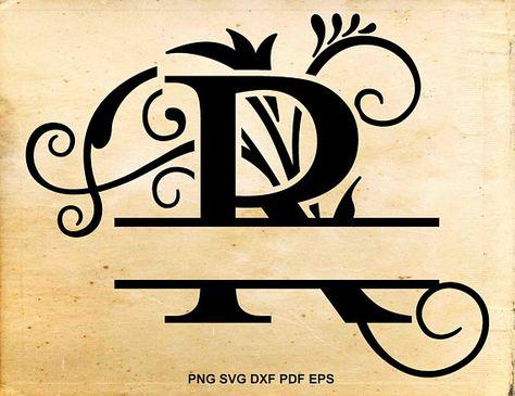 Split Letter Font For Cricut Unique Vinyl Projects On Pinterest Of Split Letter Font For Cricut Elegant Free Monogram Svg Files For Cricut Bing