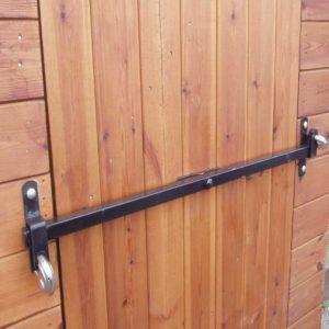 Shed Double Door Security Bar Garage Door Security Shed Security Security Door