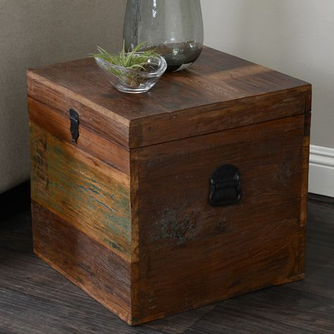 Found it at Wayfair - Elk River Small Recycled Wood Box