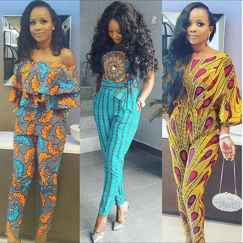 5116f1fa893 Latest Ankara Fashion  100+ Super Stylish   Glam Ankara Jumpsuits ...