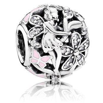 DAZZLING FLOWER .925 Sterling Silver European Charm Bead D2