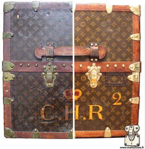 Le Blog Des Malles De Luxe Ancienne Et Occasion Malle Louis Vuitton Malle Louis Vuitton Blog