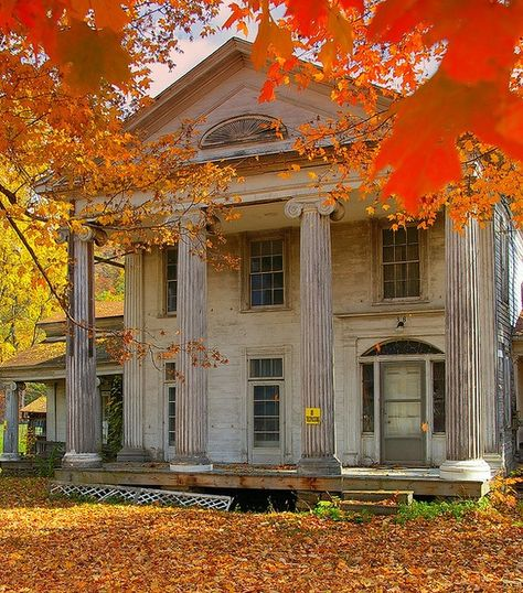 beautiful abandoned southern mansion