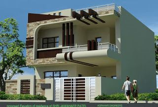 Top 50 2 Storey Building Elevation Design In 2020 House Outer Design House Elevation Duplex House Design