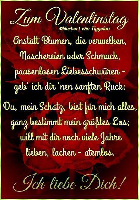Pin Von Mk Auf Liebe Valentinstag Bilder Valentinstag Spruche