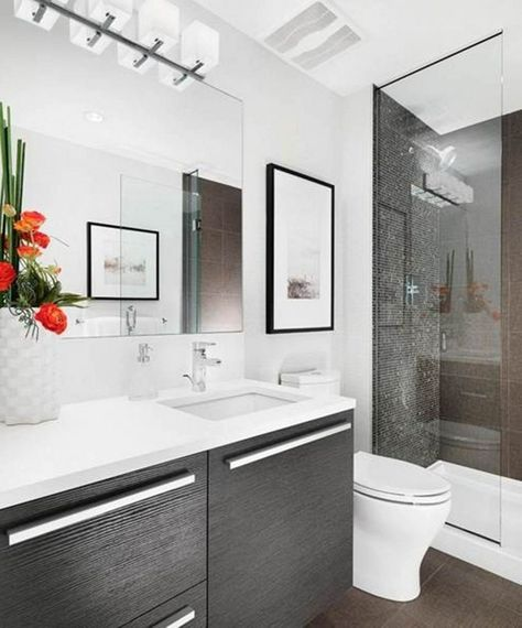 Breathtaking 25+ Attractive Modern Small Bathroom Designs For Awesome Home https://dexorate.com/25-attractive-modern-small-bathroom-designs-for-awesome-home/