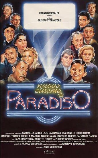 Completo Nuovo Cinema Paradiso 1988 Vedere Film Streaming Italiano Hd Cinema Paradiso Cinema Best Movie Posters