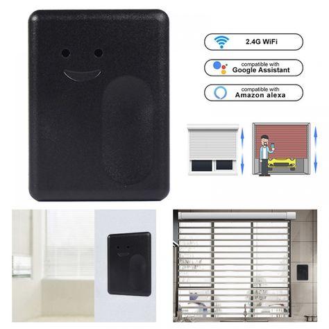 Wifi Switch Ewelink Homekit Smart Home Garage Door Controller For Car Garage Door Opener App Remote Control Timing Voice Control Microflow Smart Garage Door Opener Garage Door Remote Control Garage