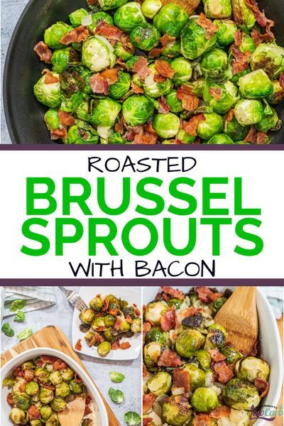Roasted Brussel Sprouts With Bacon Recipe Low Carb And Keto Friendly Recipe Bacon Brussel Sprouts Roasted Brussel Sprouts With Bacon Recipe Brussel Sprouts