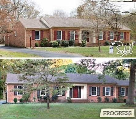 Front Door Colors With Red Brick Ranch Shutters 39 New Ideas Door Brick Exterior House Brick House Front Door Colors Red Brick House Exterior