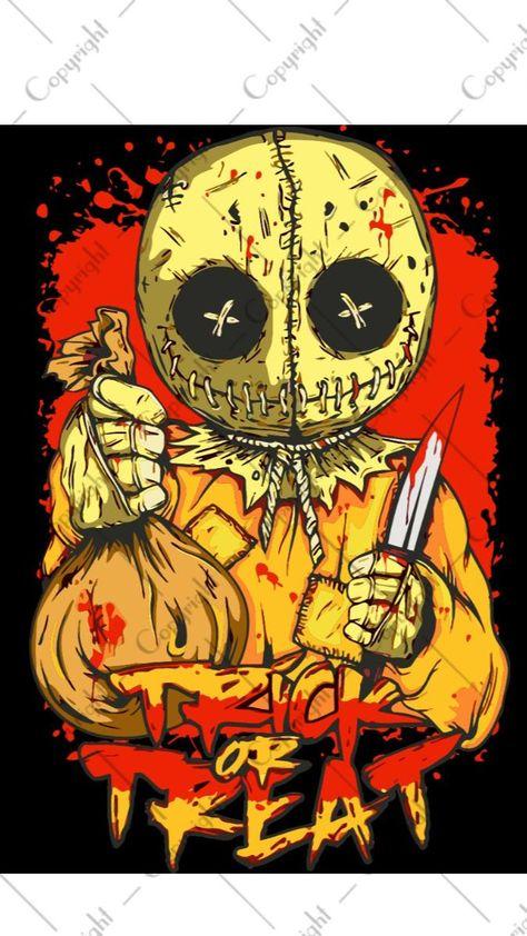 Halloween Trick Or Treat Designs