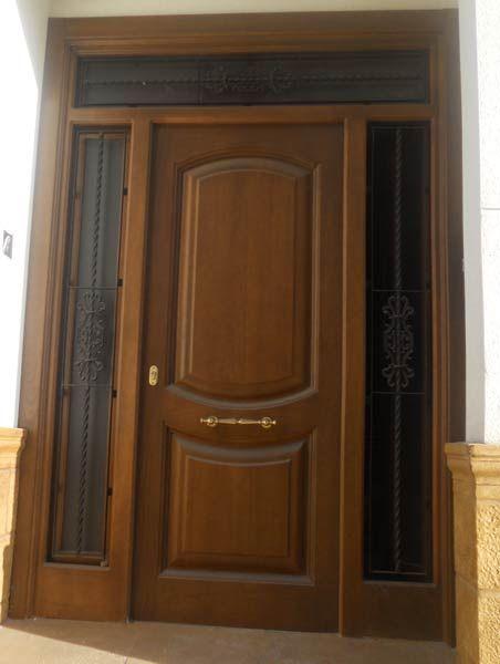 Modelo Puerta Para Exterior Ref 40 Door Design Family House Plans Wood Doors