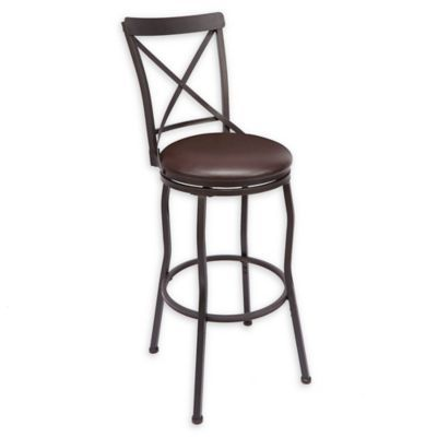Cool Faux Leather Upholstered Adjstable Bar Stool Oil Rubbed Alphanode Cool Chair Designs And Ideas Alphanodeonline