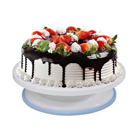 Cake Decorating Turntable Rotating Cake Stand Baking Supplies With Decorating Sets Walmart Com Cake Decorating Turntable Rotating Cake Stand Cake Decorating Stand