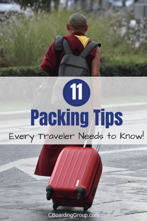 11 Packing Tips for Travel (the best packing tips for air