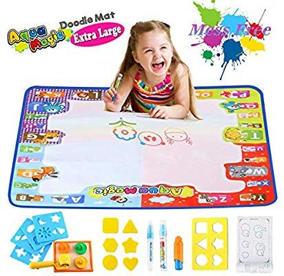 Water Drawing Mat Painting Doodle Magic Kids Toys Toddlers