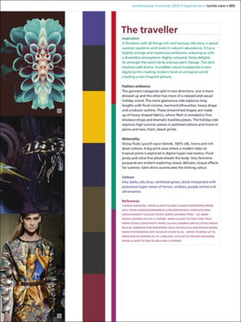 View Textile No. 105 - Womenswear - Magazines- mode information