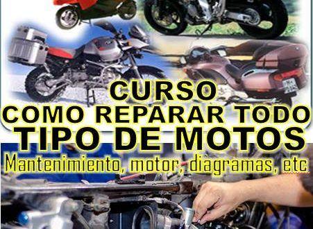 Manual De Reparación Completa De Motos De Toda Marca En Pdf Manuales De Reparación Mecanica De Motos Tipos De Motos