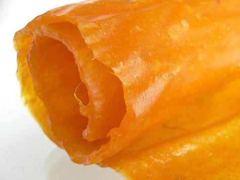 "Fruchtleder ""Gummibärchen"" - pürierte Früchte aus dem Dörrautomat"