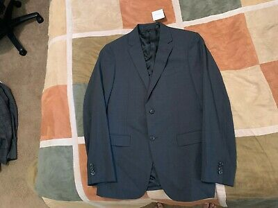 Theory Mens Wellar HC New Tailor Suit Jacket