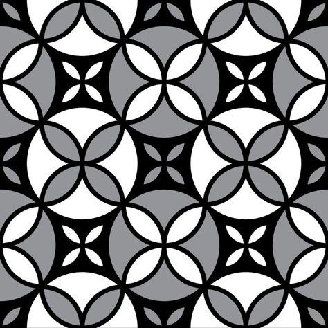 "Grafica di Erika Saetti: ""Geometric style"" #pattern #thecolorsoup #flowers #colors #textile #design #style #texture"