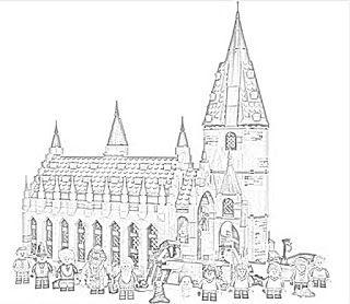 Harry Potter Hogwarts Coloring Pages Holiday Filminspector Com Hogwarts Castle Hall Colour Potter