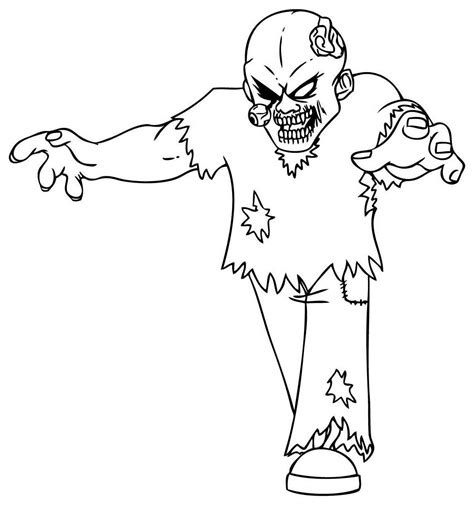 Scary Coloring Pages For Halloween