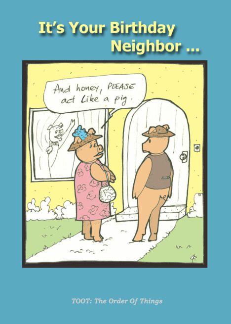 Happy Birthday Neighbor Images : happy, birthday, neighbor, images, Happy, Birthday, Neighbor, Humor, Cartoon, #SPONSORED,, #Neighbor,, #Birthday,, #Happy…, Grandma,, Cousin,, Coach