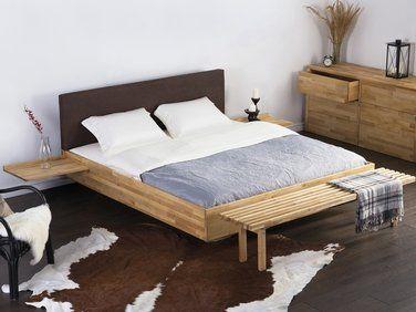 lit design en bois lit double 180x200