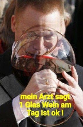 nur ein glas wein