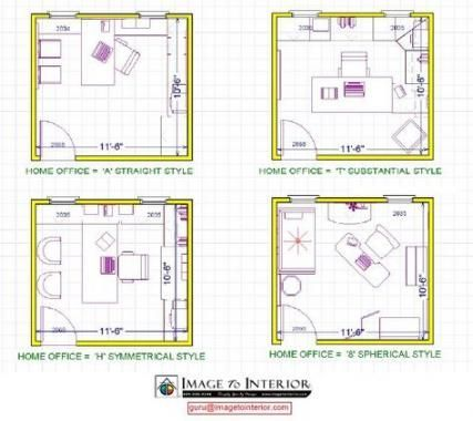 68 Trendy Home Office Layout Ideas Floor Plans Spaces